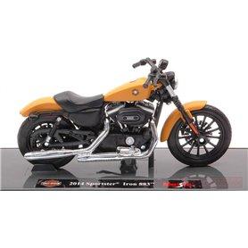 Maisto 39360-3 Motorcykel Harley Davidson 2014 Sportster Iron 883