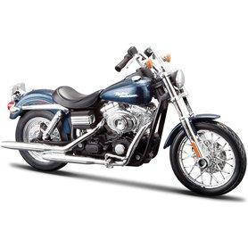 Maisto 32320-4 Motorcykel Harley Davidson 2006 FXDBI Dyna Street Bob