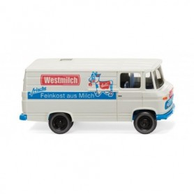 Wiking 27058 MB L 406 box van 'Westmilch'