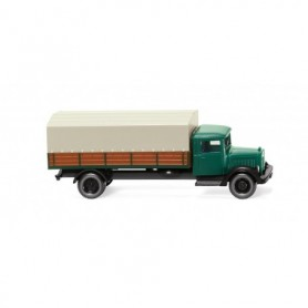 Wiking 94307 Flatbed truck (MB L 2500) - pine green