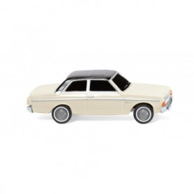 Wiking 20402 Ford 20M - pearl white with black roof
