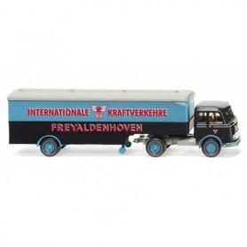 Wiking 51324 Box semi-trailer (MB Pullman) 'Freyaldenhoven'