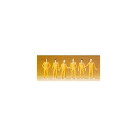 Preiser 79104 Mekaniker, 6 st