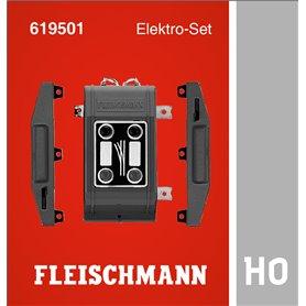 Fleischmann 619501 Elektro-set, för att göra 2 manuella växlar till elektriska