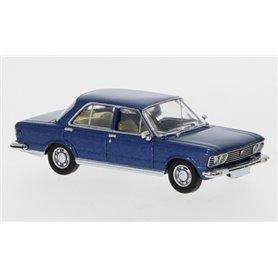 Brekina 870057 Fiat 130, metallicblå, 1969