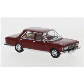 Brekina 870058 Fiat 130, mörkröd, 1969
