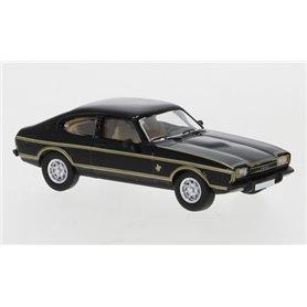 Brekina 870070 Ford Capri MK II, svart/dekor, 1974, PCX