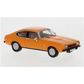 Brekina 870071 Ford Capri MK II, orange, 1974, PCX