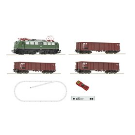 Roco 51330 z21 start digital set: Electric locomotive class 140 and goods train, DB