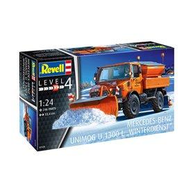 "Revell 07438 Unimog U1300L ""Winter Service"""