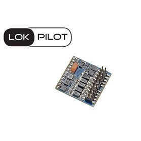ESU 59212 Lokdekoder LokPilot 5 Fx DCC/MM/SX, PluX22 NEM658, gauge H0, 0