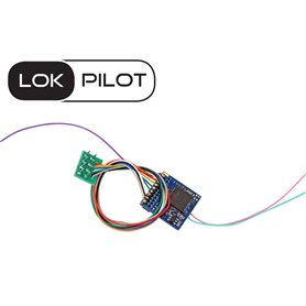 ESU 59220 Lokdekoder LokPilot 5 Fx DCC, 8-pin NEM652, gauge H0, 0