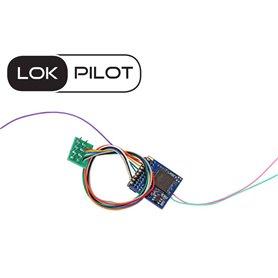 ESU 59222 Lokdekoder LokPilot 5 Fx DCC, PluX22 NEM658, gauge H0, 0