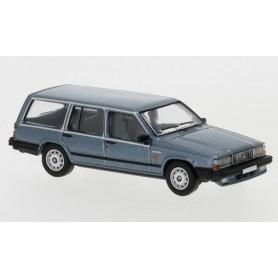 Brekina 870114 Volvo 740 Kombi, metallic-ljusblå, 1985, PCX