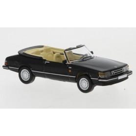 Brekina 870124 Saab 900 Cabriolet, svart, 1986, PCX