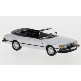Brekina 870126 Saab 900 Cabriolet, silver, 1986, PCX