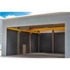 Faller 180898 Goldbeck Roof beams and wall connectors