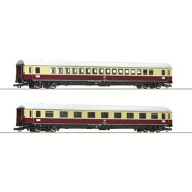 "Roco 74074 Vagnsset med 2 personvagnar ""TEE 74/75 Roland"" DB (Set 3)"