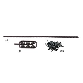 Roco 42602 Flexible toothed racks for ROCO LINE tracks