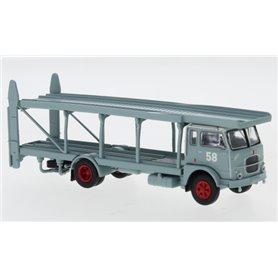 """Brekina 95843 Biltransport Fiat 642 blågrå Spedition, 1962 """"58"""""""