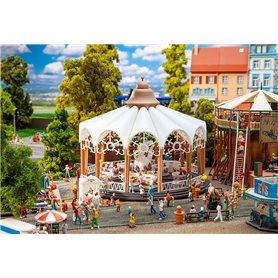 Faller 140335 Dog rose coffee cups Carousel