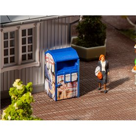 Faller 180992 Old clothes container, blue
