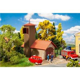 Faller 131383 Fire brigade engine house