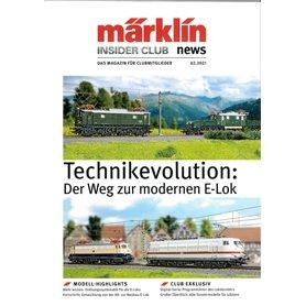 Märklin INS022021T Märklin Insider 02/2021 Tyska