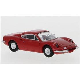 Brekina 870216 Ferrari Dino 246 GT, röd, 1969, PCX