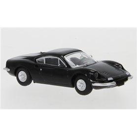 Brekina 870217 Ferrari Dino 246 GT, svart, 1969, PCX