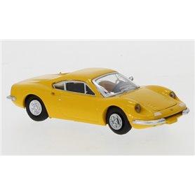 Brekina 870218 Ferrari Dino 246 GT, gul, 1969, PCX