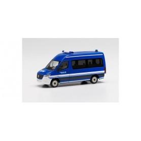 Herpa 096201 Mercedes-Benz Sprinter 18 bus high roof 'THW'