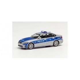 Herpa 096249 BMW 3 Series sedan Policja Polska