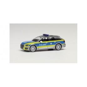 Herpa 096256 Audi A6 Avant Police Thuringia