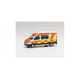 Herpa 096263 MAN eTGE bus high roof 'coronavirus vaccination mobile'