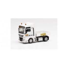 Herpa 313681 MAN TGX XXL Euro 6c tractor with ballast flatbed 'Circus Krone'