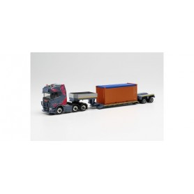 """Herpa 313698 Scania CS 20 HD 6x2 heavy duty truck with container """"Oehlrich"""""""