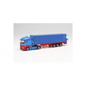 "Herpa 313919 Mercedes-Benz Actros container sideloader ""Frankenbach"""