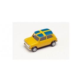 Herpa 420723 Mini Cooper European Championship 2021, Sweden