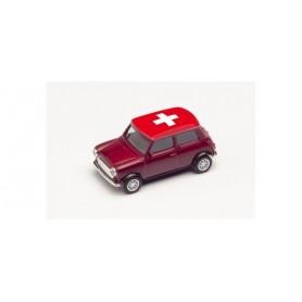 Herpa 420730 Mini Cooper European Championship 2021, Switzerland