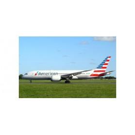 Herpa Wings 527606-001 Flygplan American Airlines Boeing 787-8 Dreamliner – N816AA