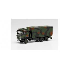 "Herpa 746786 Iveco Trakker 6x6 with interchangeable body camouflage design ""Bundeswehr"""