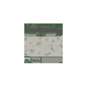 Herpa Wings 530262 Airport ground Plates - Set 2. Cargo Area