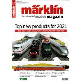 Märklin 353339 Märklin Magazin 2/2021 Engelska