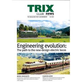 Trix CLUB022021 Trix Club 02/2021, magasin från Trix, 23 sidor i färg, Engelska