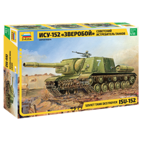 Zvezda 3532 Tanks Soviet Self-propelled Gun ISU-152