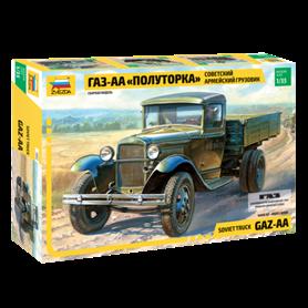 Zvezda 3602 Soviet army truck Gaz-AA