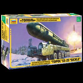 "Zvezda 5003 Russian intercontinental ballistic missile launcher ""Topol"" SS-25 ""Sickler"""