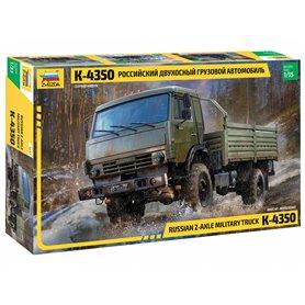 Zvezda 3692 Russian 2-Axle Military Truck K-4350