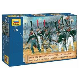 Zvezda 8020 Figurer Russian heavy infantry 1812-1815